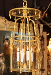 Golden bronze lantern