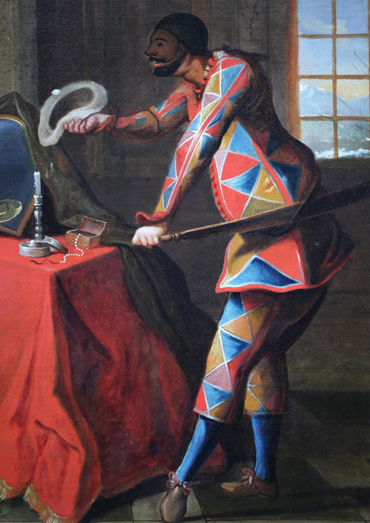 Ecole Française du XVIII paire de peintures