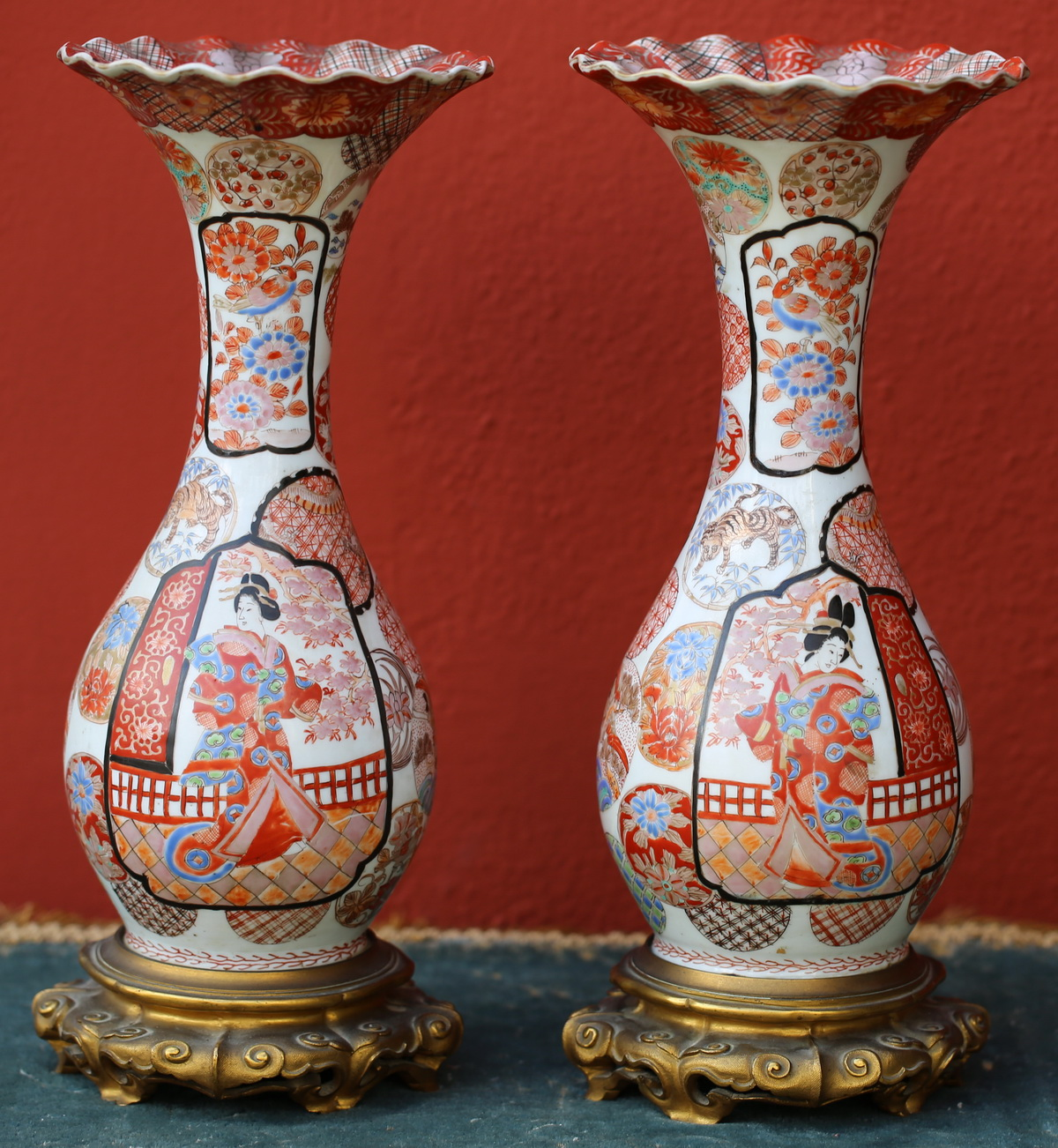 Paire vases Japon période Meiji