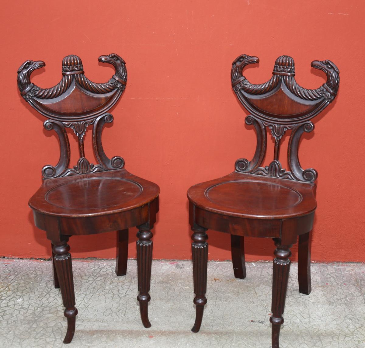 Paire de chaises circa 1850