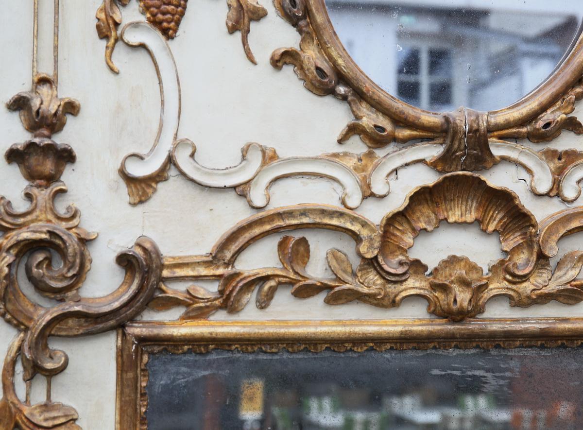 Paire de trumeaux style Louis XV