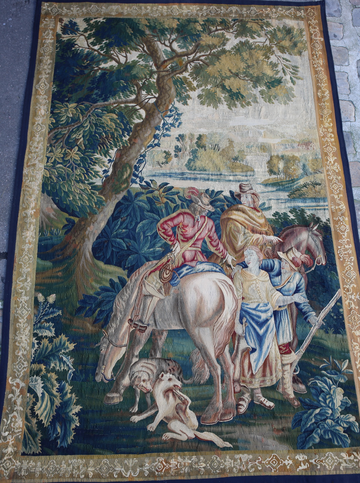 Aubusson tapestry 17th