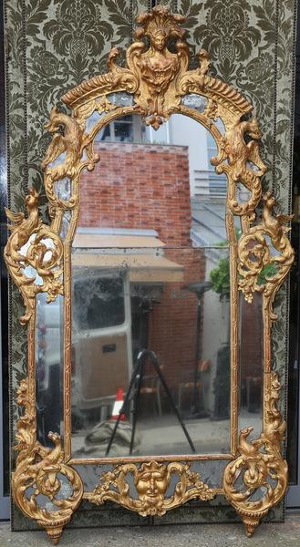 Miroir d'époque Régence