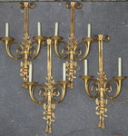 Suite of 4 Louis XVI sconces circa 1900