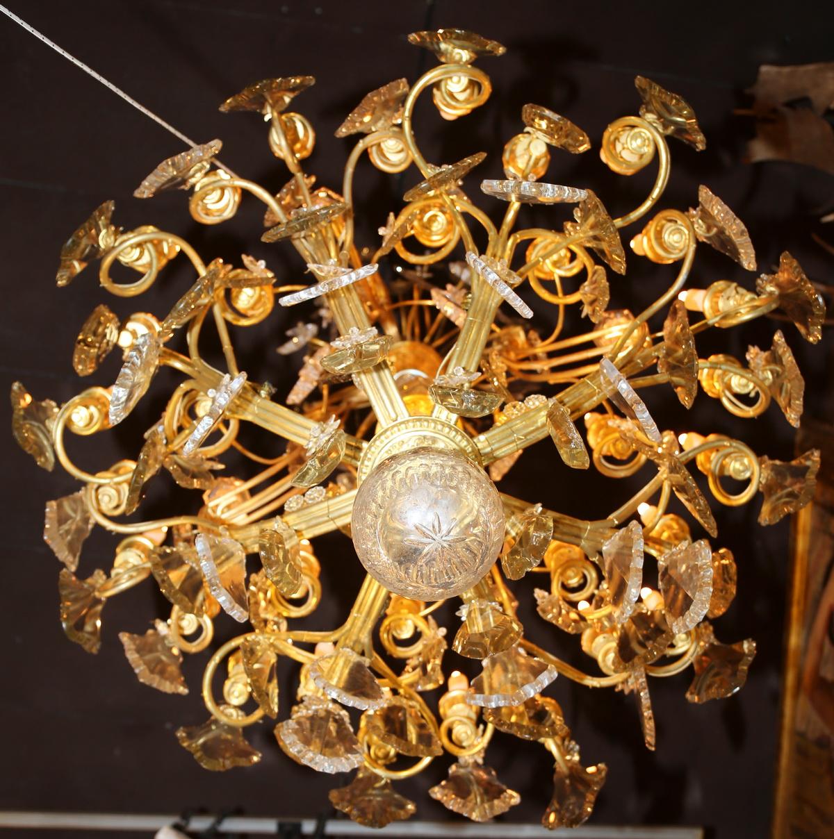 lustre XIXème 30 lumières
