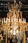 Lustre cage style Louis XV debut XX