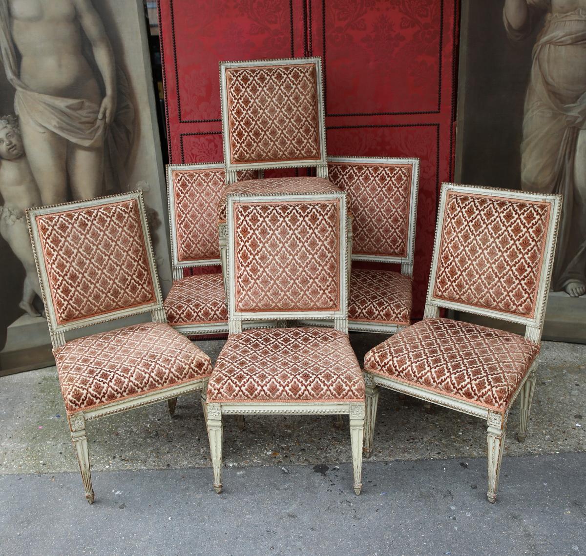 Salon époque Louis XVI (14 pièces)