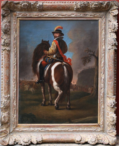 Francesco Casanova suiveur de circa 1780