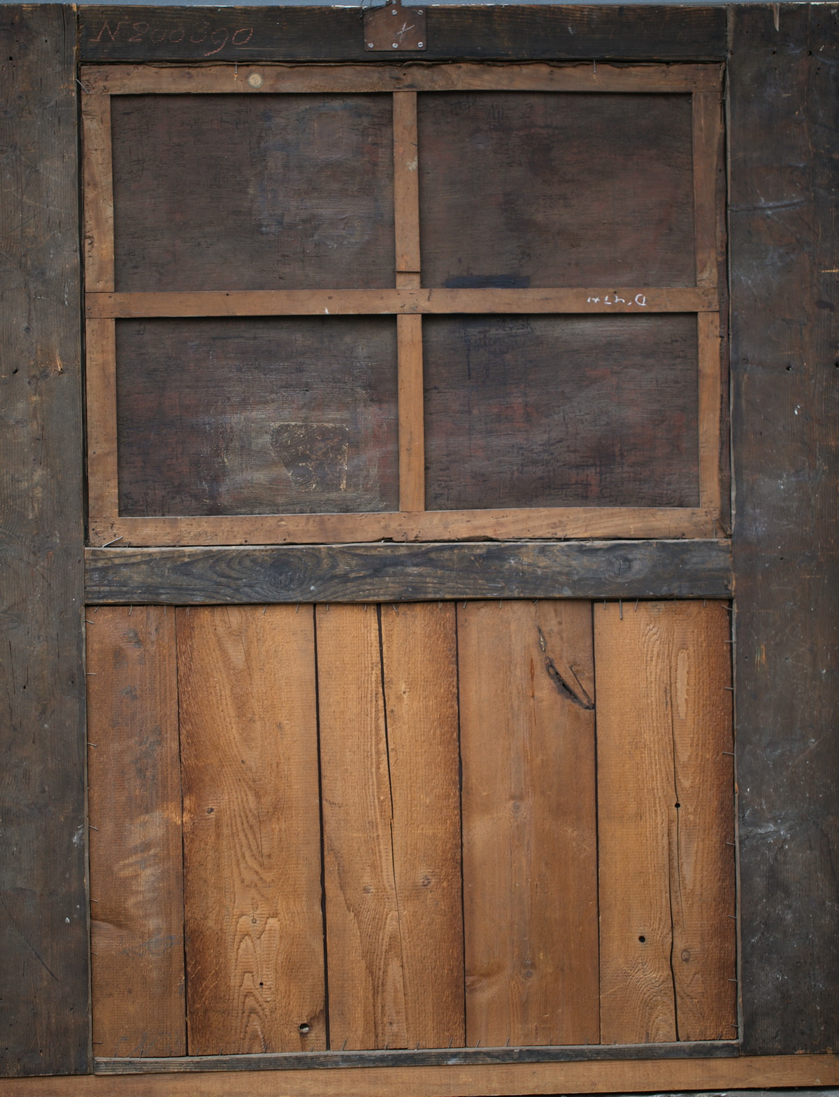 Pier glass of woodwork 18th