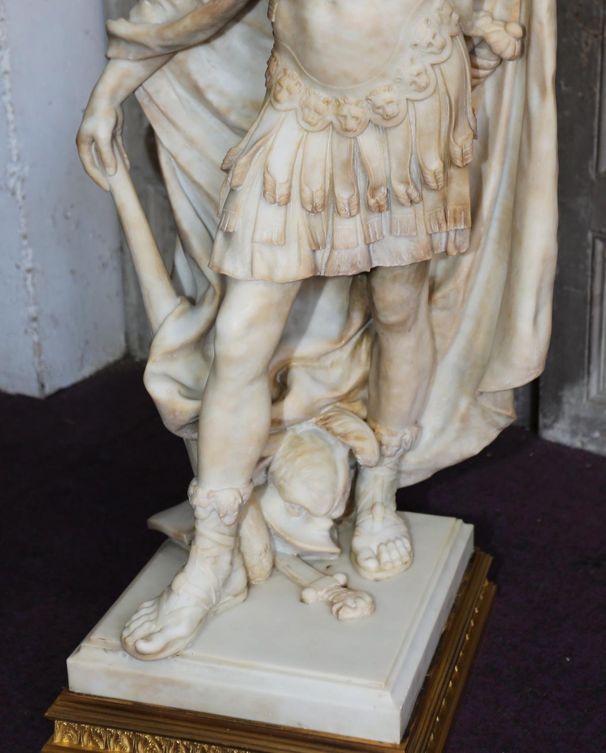 Louis XIV en marbre circa 1860