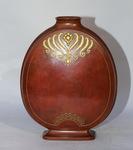 Christofle, gourd vase, circa 1919