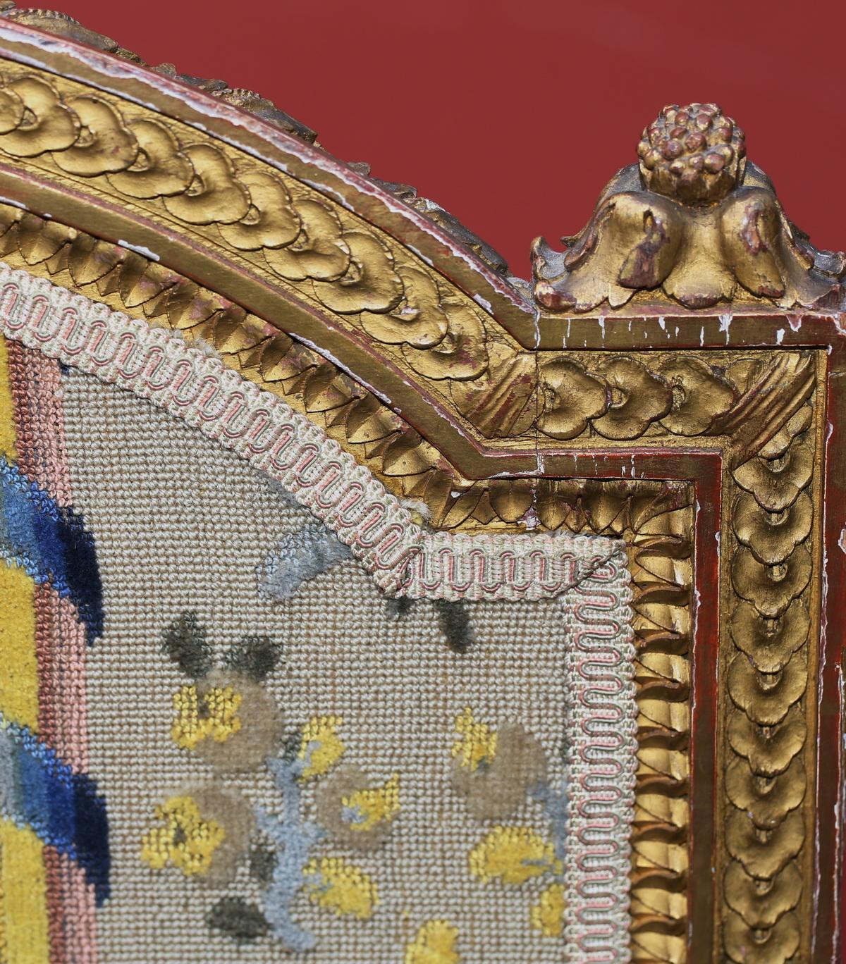 Canapé style Louis XVI circa 1880