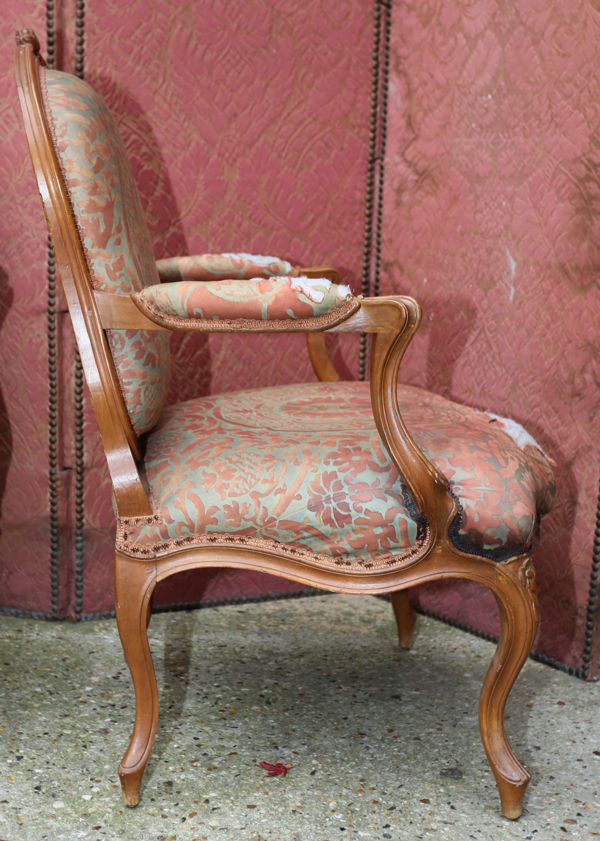 Paire fauteuils  époque XVIII