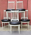 Set of 6 Louis XVI chairs