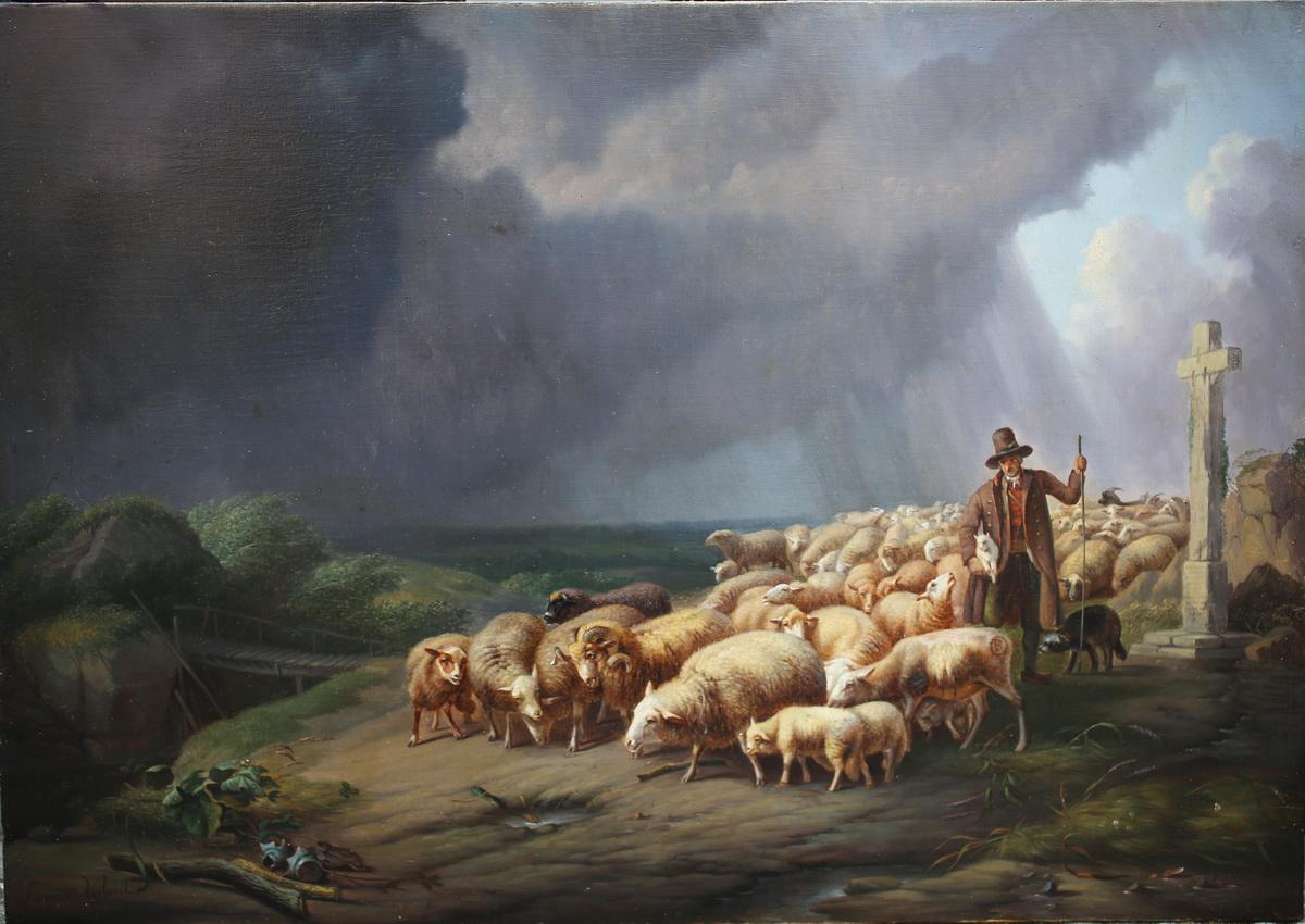 Eugène Verboeckhoven (1799-1881)