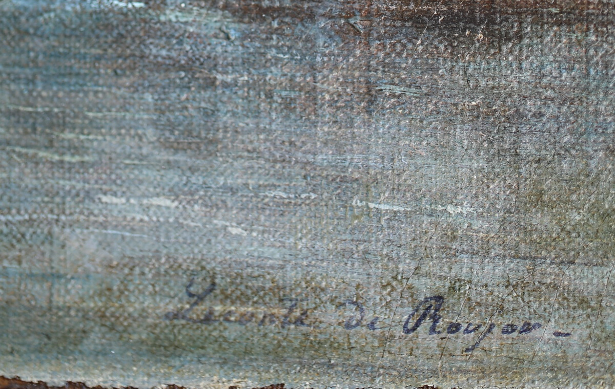 Louis Auguste G. LECONTE DE ROUJOU (1819-1902)