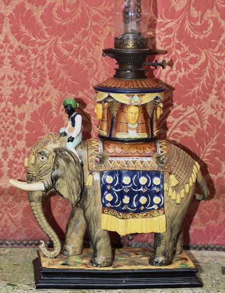 Slurry lamp late nineteenth