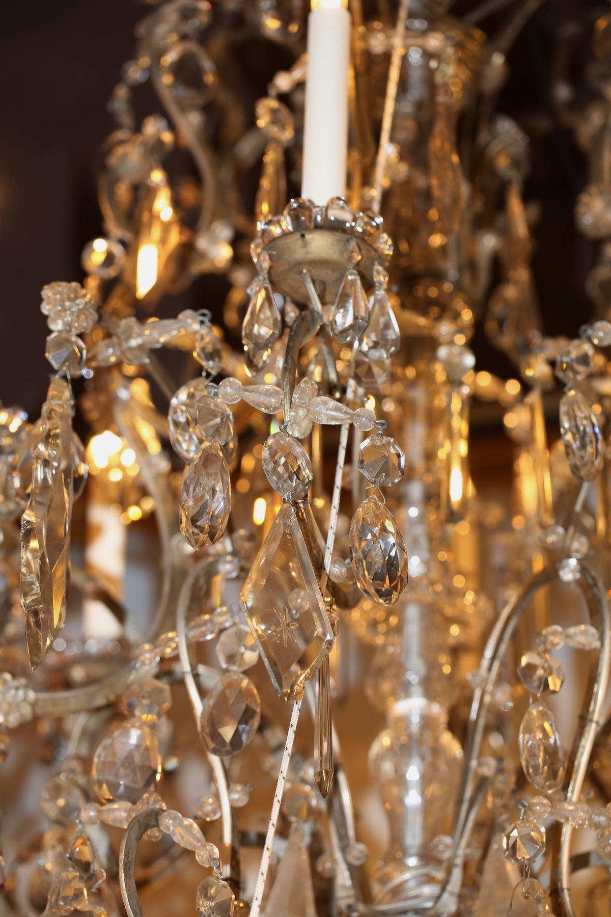 Lustre 18 lumières style Louis XV