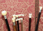 Shibayama cane collection