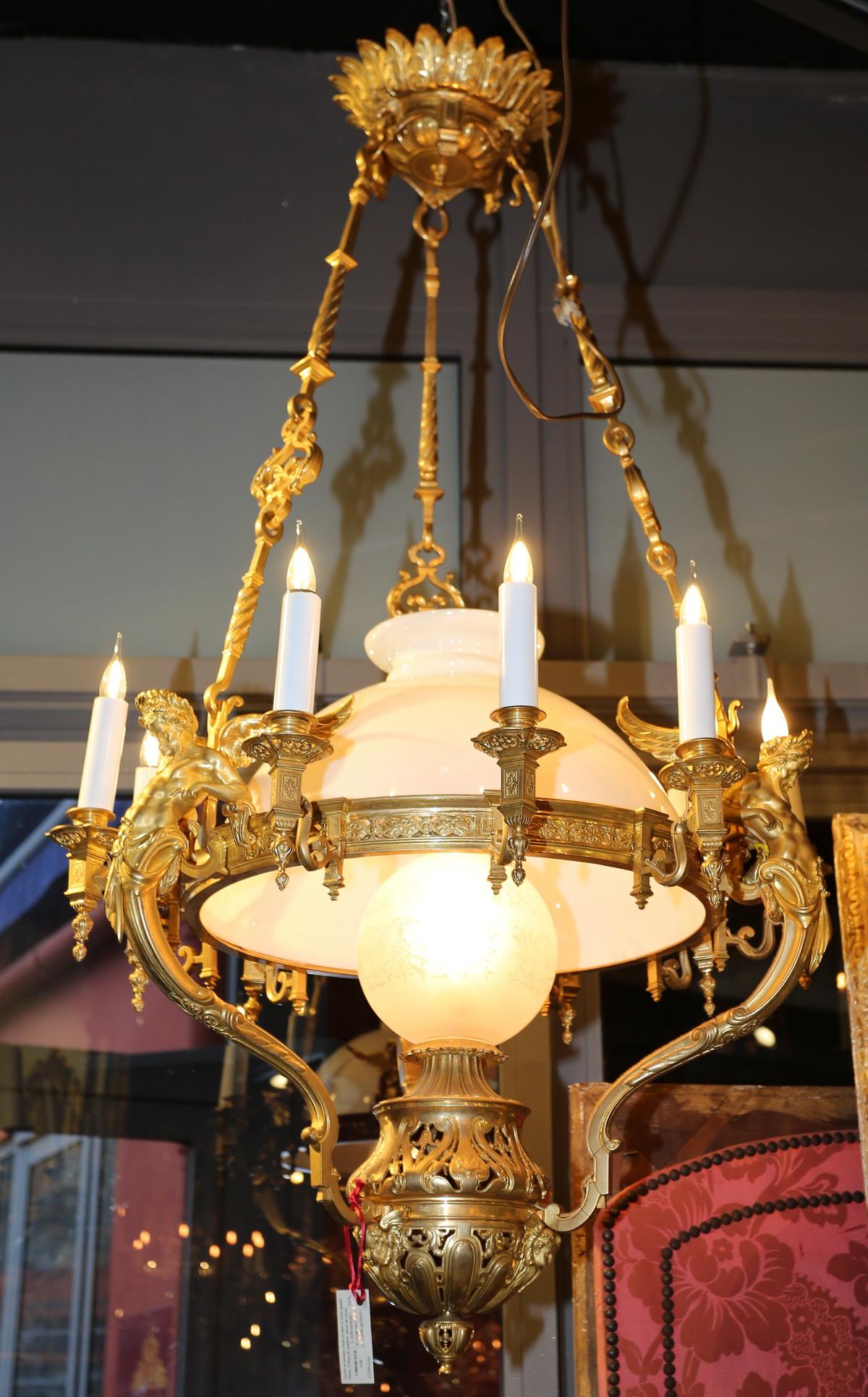 Lustre suspension circa 1880