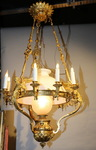 Lustre suspension circa 1880