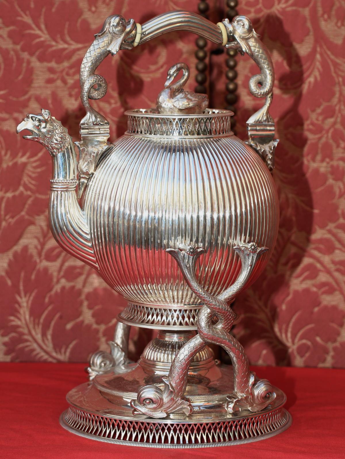 Service à thé et café circa 1860