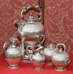 Tea and coffee set circa 1860