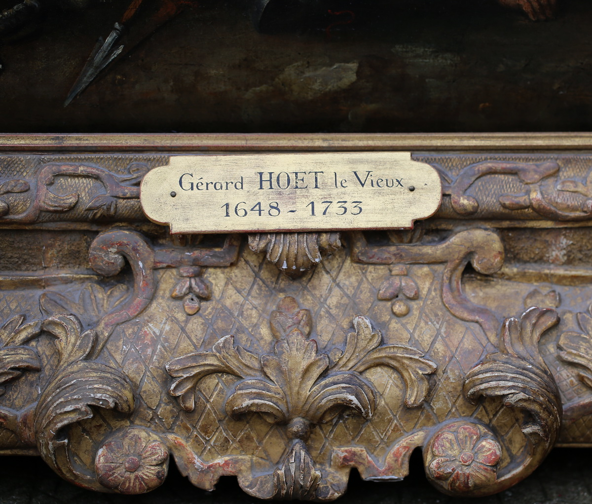 Gerard HOET le vieux 1648-1733