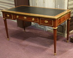 Louis XVI style flat desk signed Durand