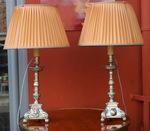 Paire de lampes, maison Malabert.