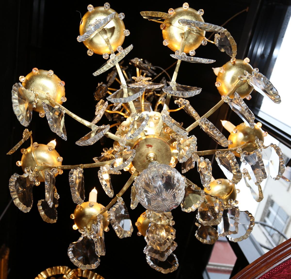 Louis XV style chandelier circa 1930