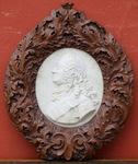School of XVIII profile of George II 1681-1760