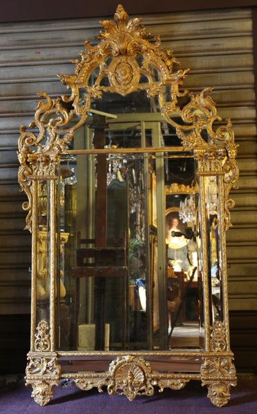 Miroir époque Régence