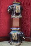 Paire de tabourets chine circa 1880