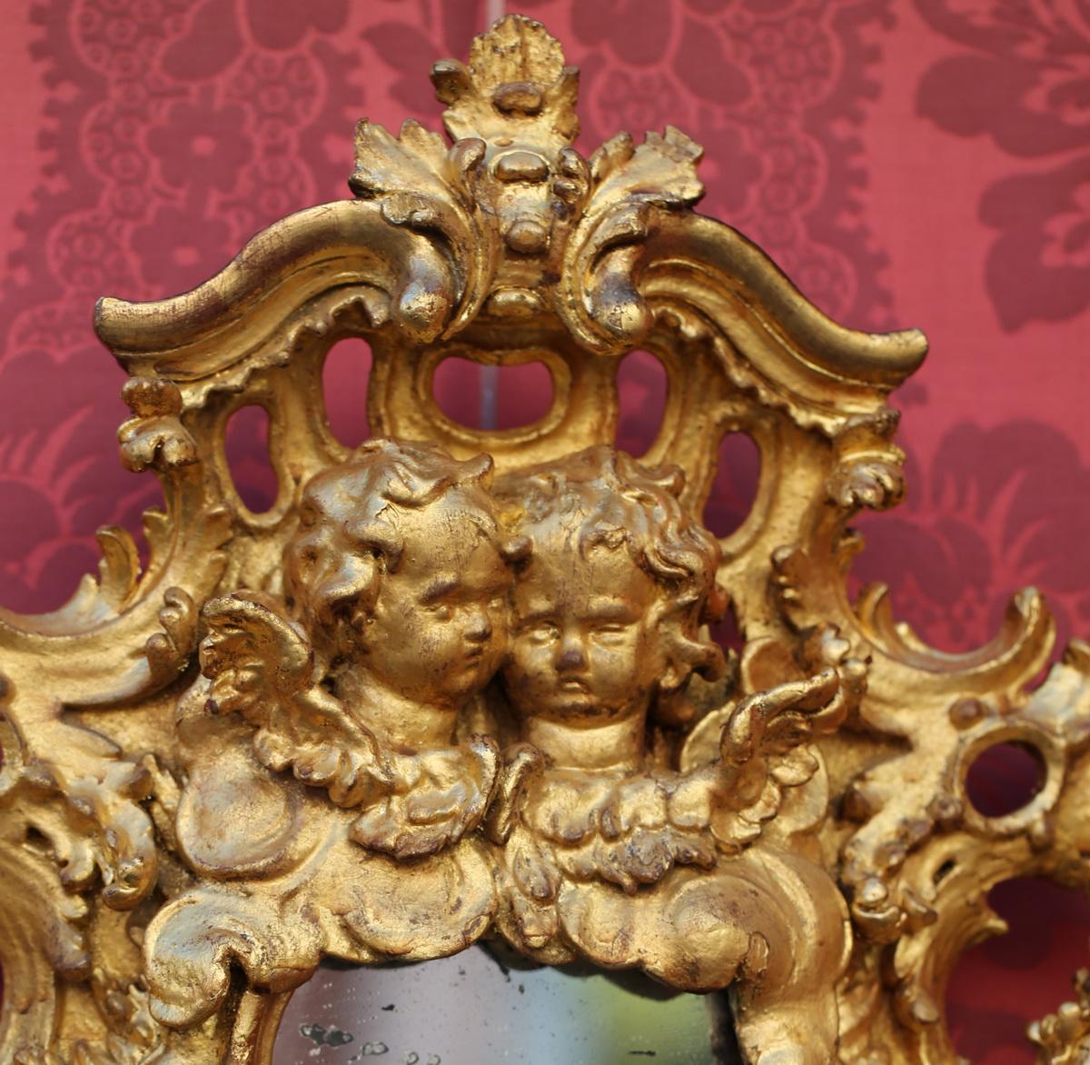 Cadre bois doré XVIIIème
