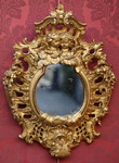 18th century gilded wooden frame