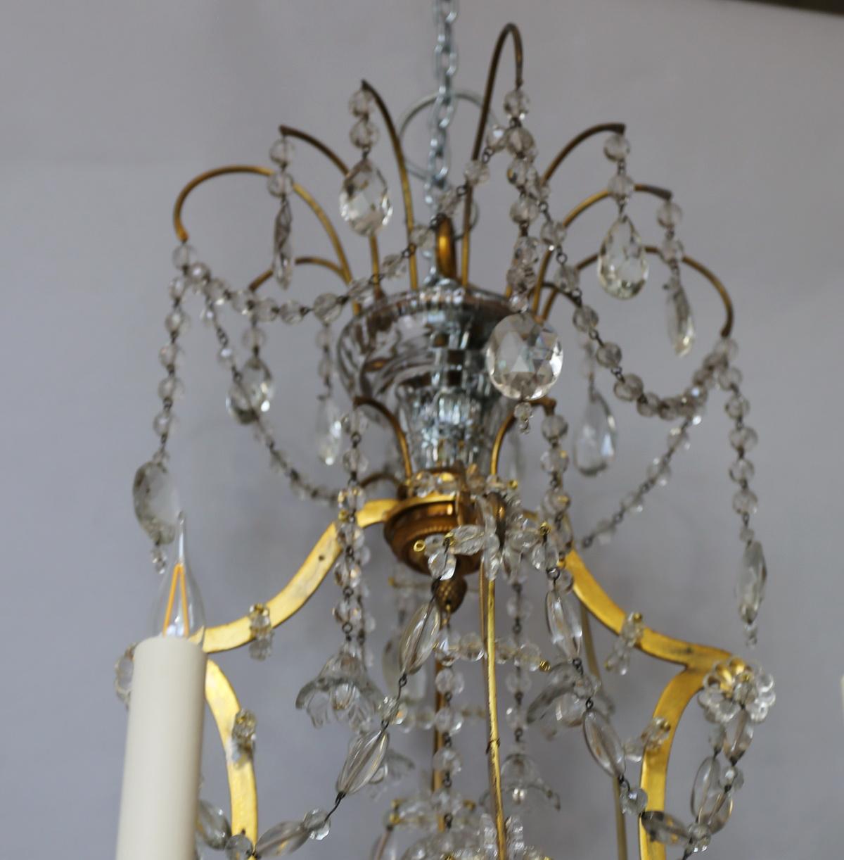 Lustre style Louis XVI circa 1940