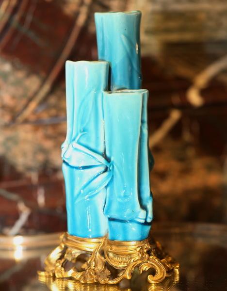 Vase soliflore, Deck et Millet.