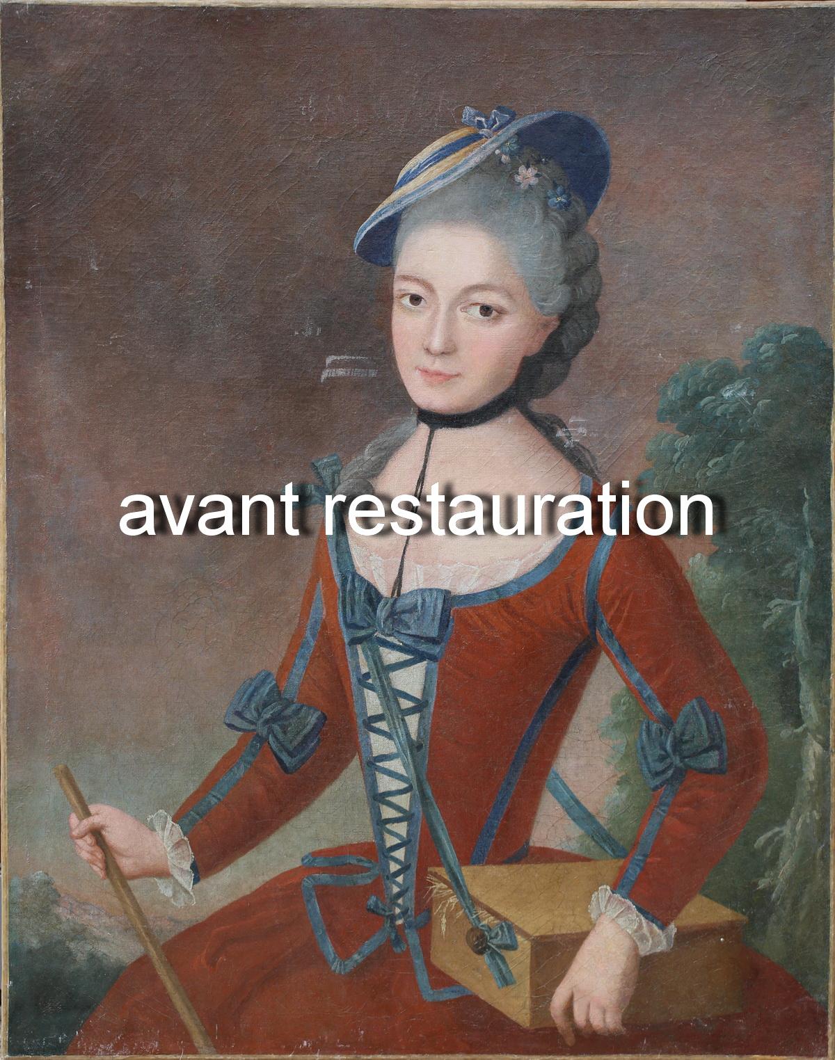 French School around 1780