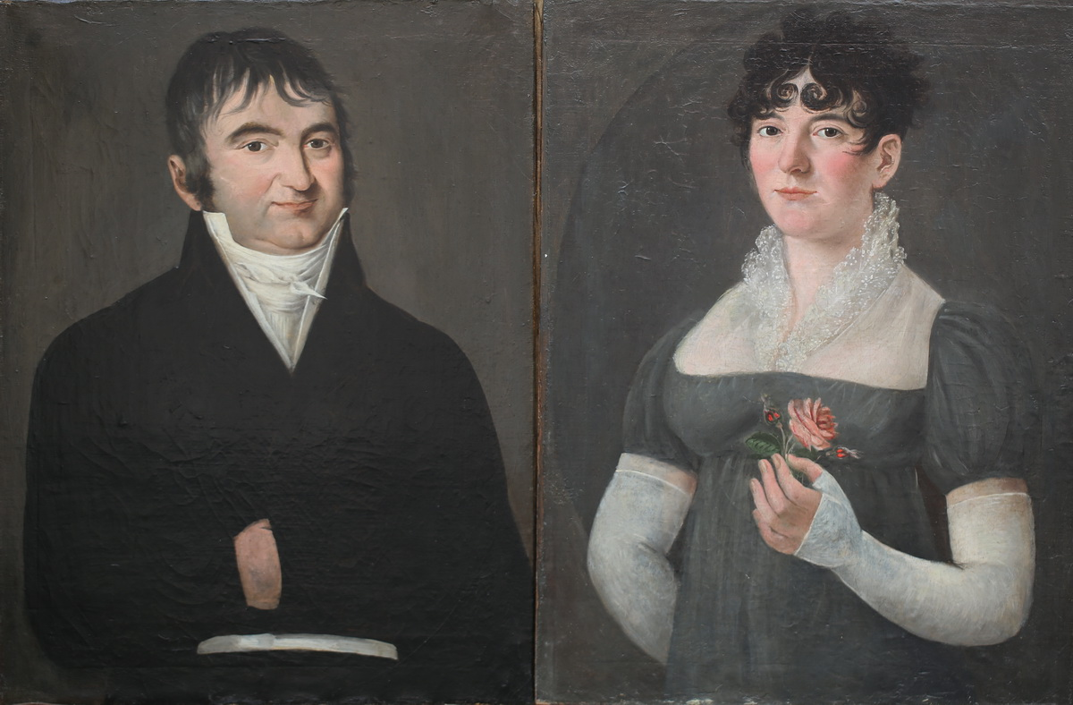 Ecole Française fin XVIII début XIX