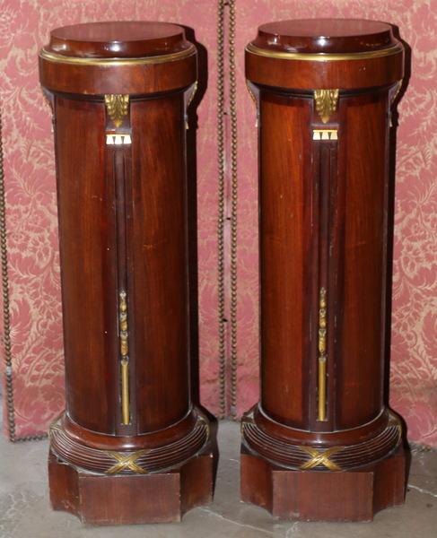 Paire de colonnes style Louis XVI circa 1900