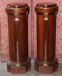 Pair of Louis XVI style columns circa 1900