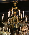Chandelier neo-gothic style late XIXth