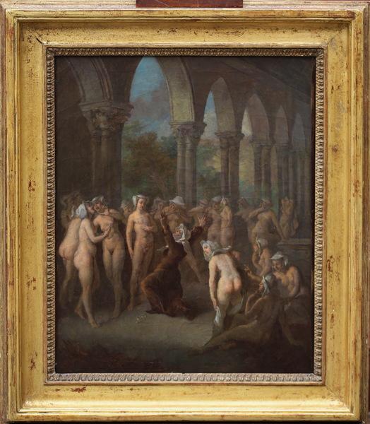 Etienne JEAURAT1699-1789 attributed to