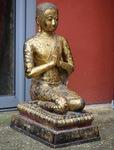Siam late XVIII praying .