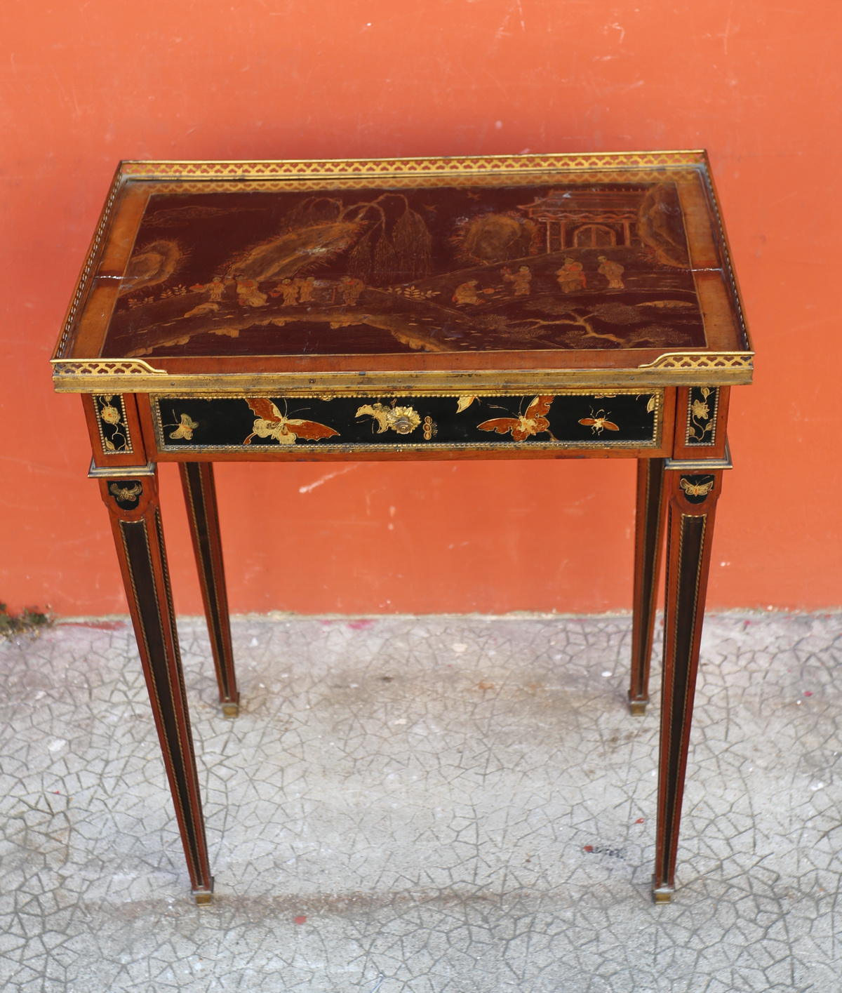 Table de salon circa 1880