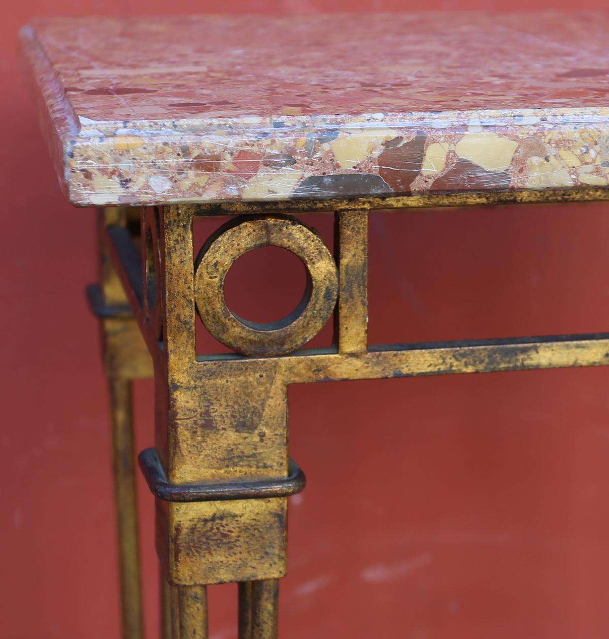 XXth coffee table, Jansen