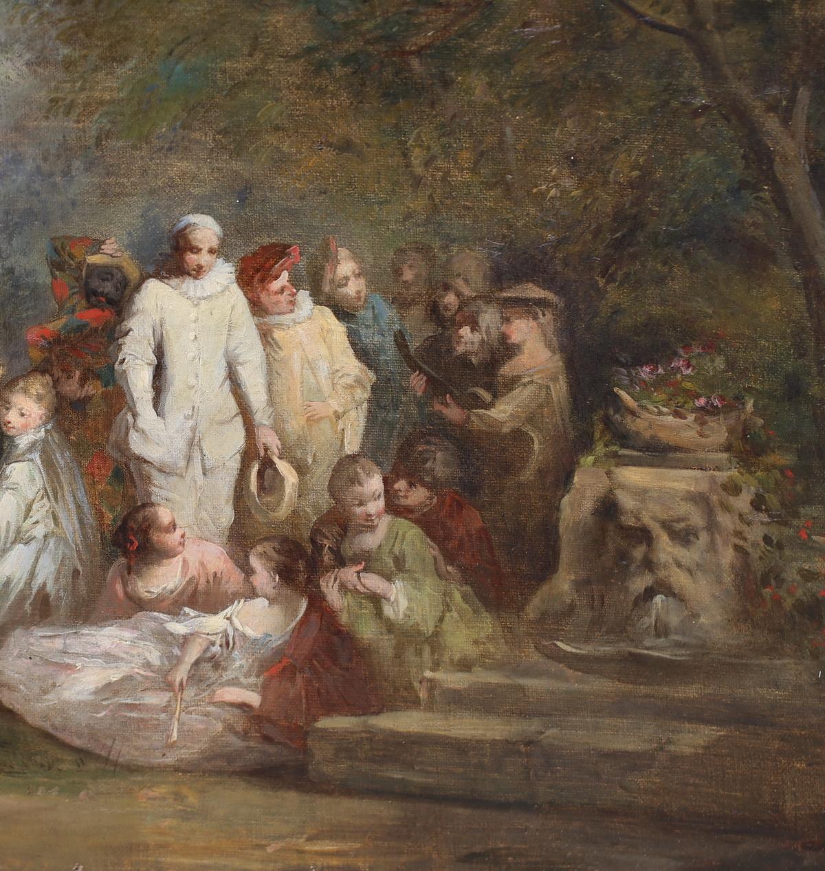 Henri Charles Antoine Baron 1816-1885 attribué à