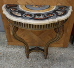 Louis XVI style console late nineteenth