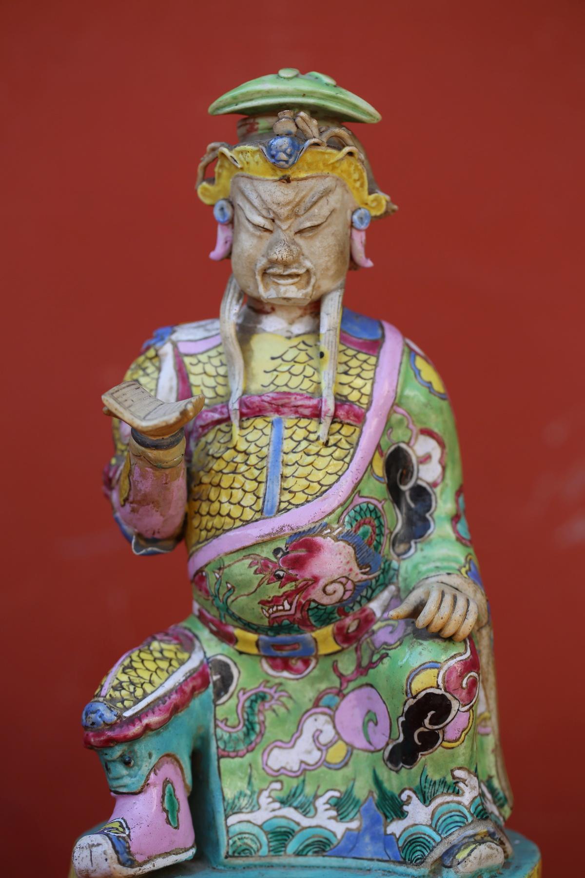 Chine XVIII paire de dignitaires
